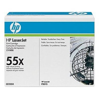 HP 55X Black Original Toner DUAL-PACK HP LaserJet Enterprise 500 MFP M 525 | InkNu