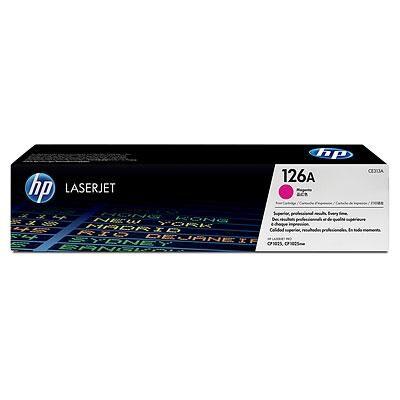 HP 126A Magenta Original Toner HP LaserJet Color Pro CP 1025 | InkNu