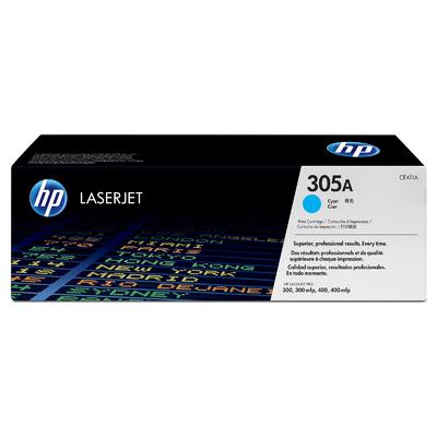 HP 305A Cyan Original Toner HP LaserJet Pro 300 M 351 | InkNu