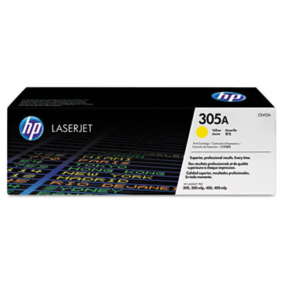 HP 305A Yellow Original Toner HP LaserJet Pro 300 M 351 | InkNu