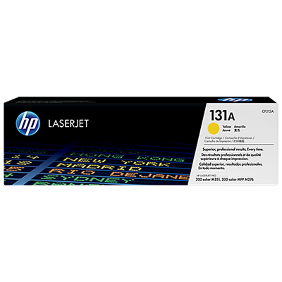 HP 131A Yellow Original Toner HP LaserJet Pro 200 M 251 | InkNu