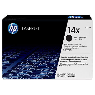 HP 14X Black Original Toner HP LaserJet Enterprise 700 M 712 | InkNu