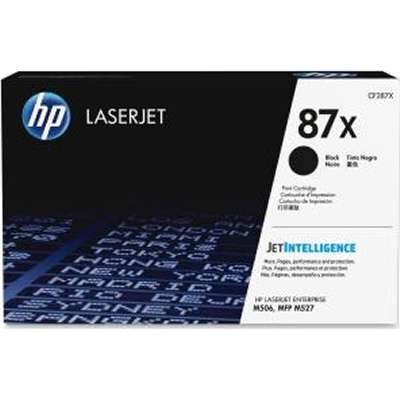 HP 87X Black Original Toner HP LaserJet Enterprise M 506 | InkNu