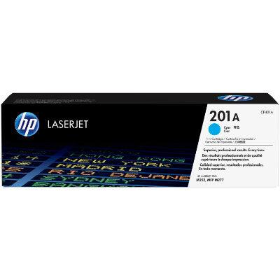 HP 201A Cyan Original Toner HP Color LaserJet Pro M 252 | InkNu