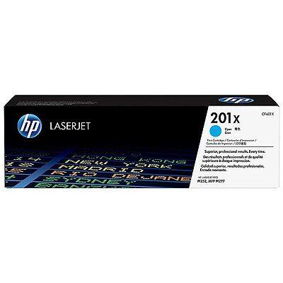HP 201X Cyan Original Toner HP Color LaserJet Pro M 252 | InkNu