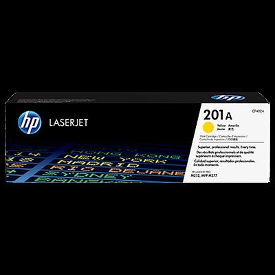 HP 201A Yellow Original Toner HP Color LaserJet Pro M 252 | InkNu