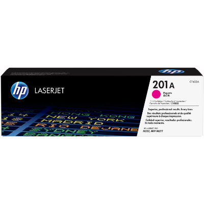 HP 201A Magenta Original Toner HP Color LaserJet Pro M 252 | InkNu