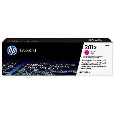 HP 201X Magenta Original Toner HP Color LaserJet Pro M 252 | InkNu