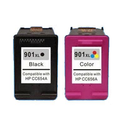 HP 901XL FARVE Kompatibel Blækpatron HP OfficeJet 4500 | InkNu