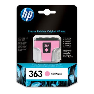 InkNu HP 363 LIGHT MAGENTA ORIGINAL BLÆKPATRON