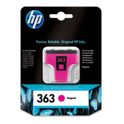 InkNu HP 363 MAGENTA ORIGINAL BLÆKPATRON
