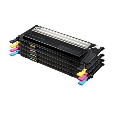 Samsung CLT-4072S CMYK Kompatibel 4-Pack Tonerpakke – 4.500 sider Samsung CLP 320 | InkNu