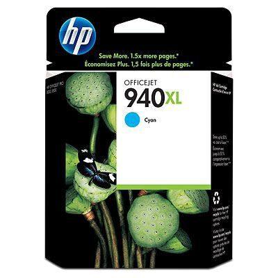 HP 940XL Cyan Original Blækpatron (UDGÅET) HP OfficeJet Pro 8000 | InkNu