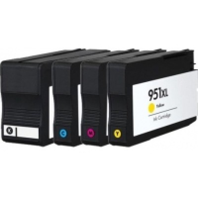 HP 951XL Yellow Kompatibel Blækpatron HP OfficeJet Pro 251 | InkNu