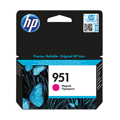 HP 951 Magenta Original Blækpatron HP OfficeJet Pro 251 | InkNu