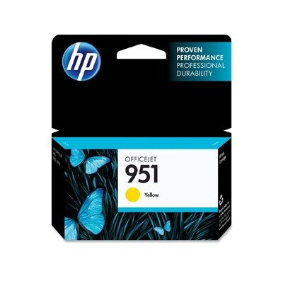 HP 951 Yellow Original Blækpatron HP OfficeJet Pro 251 | InkNu