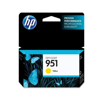 InkNu HP 951 YELLOW ORIGINAL BLÆKPATRON