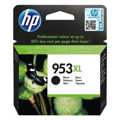 HP 953XL Black Original Blækpatron HP OfficeJet Pro 8210 | InkNu