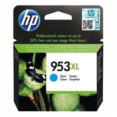 HP 953XL Cyan Original Blækpatron HP OfficeJet Pro 8710 | InkNu