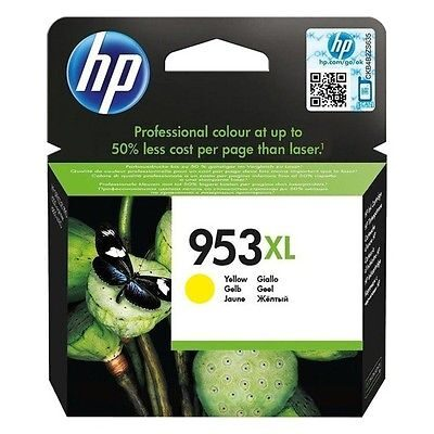 HP 953XL Yellow Original Blækpatron HP OfficeJet Pro 8210 | InkNu
