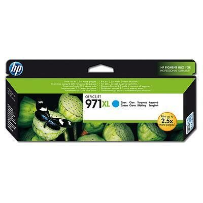 HP 971XL Cyan Original Blækpatron HP OfficeJet Pro X 450 | InkNu