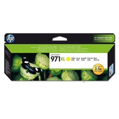 HP 971XL Yellow Original Blækpatron HP OfficeJet Pro X 450 | InkNu