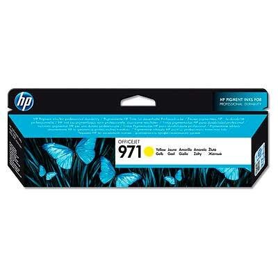 HP 971 Yellow Original Blækpatron HP OfficeJet Pro X 450 | InkNu
