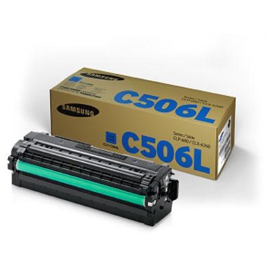 Samsung C506S Cyan High Capacity Original Toner Samsung CLP 680   InkNu