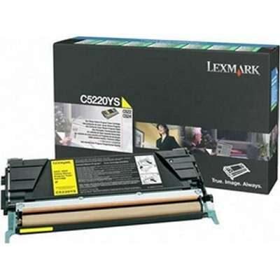 Lexmark C5220YS Yellow Original Toner Lexmark Optra C 520 | InkNu