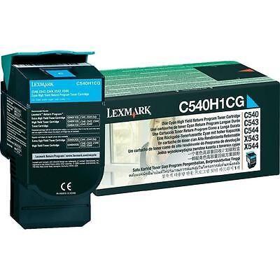 Lexmark C540A1CG Cyan Original Toner LEXMARK C 540 | InkNu