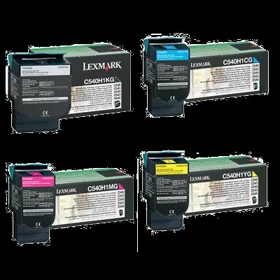 Lexmark C540H1KG Black High Capacity Original Toner LEXMARK C 540 | InkNu