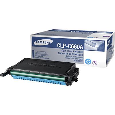 Samsung C660A Cyan Original Toner Samsung CLP 607 | InkNu