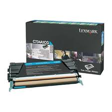 Lexmark C734A1CG Cyan Original Toner Lexmark Optra C 734   InkNu