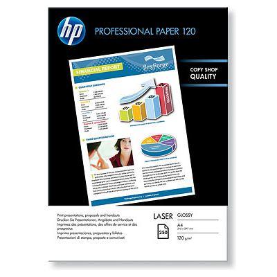 A4 PROFESSIONAL Glossy Laser 120GR (250 Sider) (UDGÅET) Foto Papir   InkNu