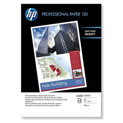 A3 PROFESSIONAL Glossy Laser 120GR (250 Sider) Foto Papir | InkNu