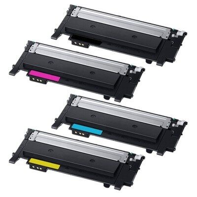 Samsung CLT-404S CMYK Kompatibel 4-Pack Tonerpakke Samsung Xpress C 430 | InkNu