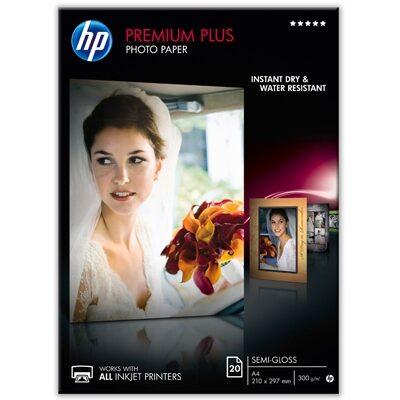A4 Premium Plus Semi-Gloss 300G (20 Sider) Foto Papir | InkNu