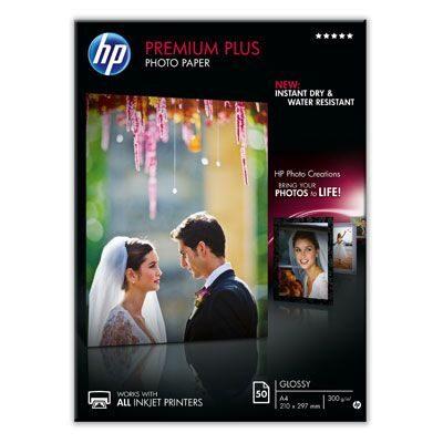 A4 Premium Plus Glossy Photo 300G (50 Sider) Foto Papir | InkNu