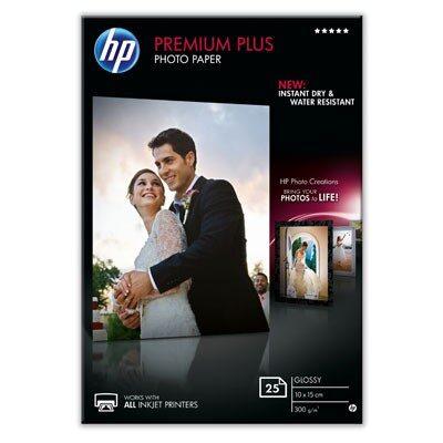 10X15 Premium Plus Glossy 300G (25 Sider) Foto Papir | InkNu