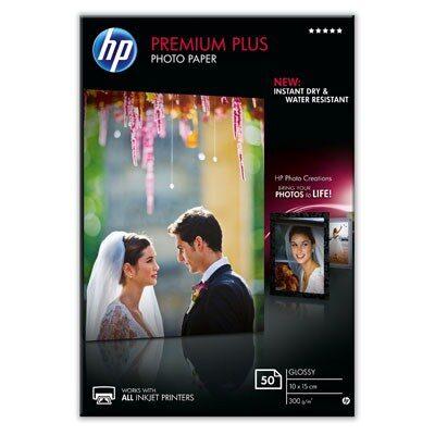 10X15 Premium Plus Glossy 300G (50 Sider) (UDGÅET) Foto Papir | InkNu