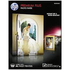 13X18 Premium Plus Glossy 300G (20 Sider) (UDGÅET) Foto Papir | InkNu