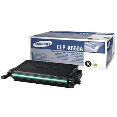 Samsung K660A Black Original Toner (UDGÅET) Samsung CLP 607 | InkNu