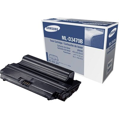 Samsung ML-D3470B Black High Capacity Original Toner (UDGÅET) SAMSUNG ML 3470 | InkNu