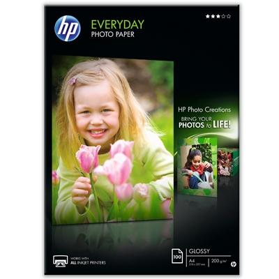 10X15CM Everyday Glossy Photo 200G (100 Sider) Foto Papir   InkNu