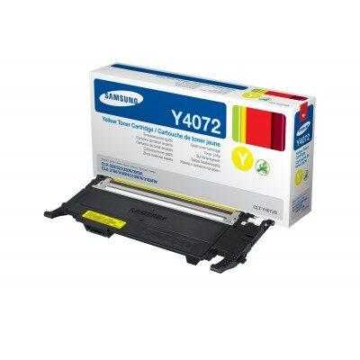 Samsung CLT-Y4072S/ELS Yellow Original Toner Samsung CLP 320 | InkNu