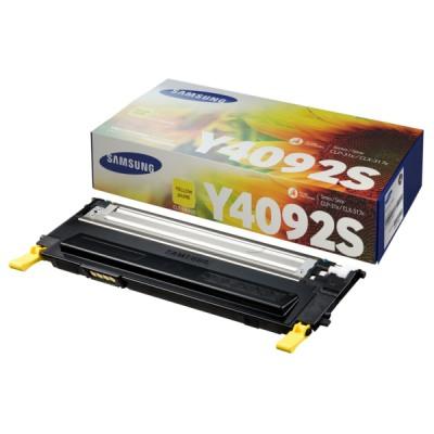 Samsung CLT-Y4092S Yellow Toner Original Samsung CLP 310   InkNu