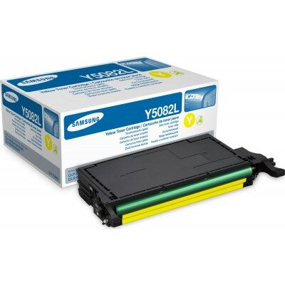 Samsung Y5082L Yellow High Capacity Original Toner Samsung CLP 620 | InkNu