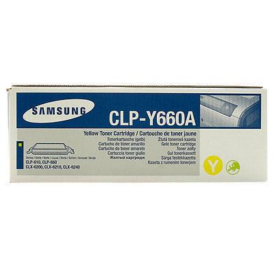 Samsung Y660A Yellow Original Toner Samsung CLP 607 | InkNu