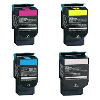 Lexmark C540H12G Yellow High Capacity Kompatibel Toner LEXMARK C 540 | InkNu