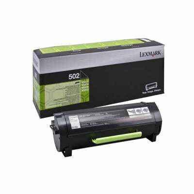Lexmark 502H Black High Capacity Original Toner 5K Lexmark MS 310 | InkNu